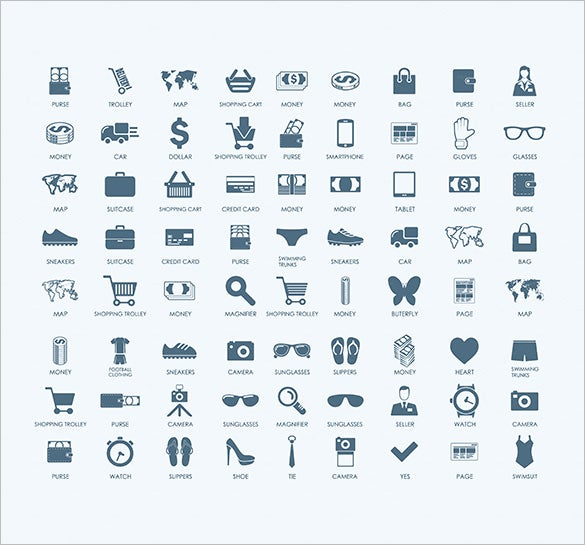 72 shopping cart icons for you