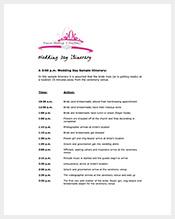 Free-Wedding-Itinerary-Template