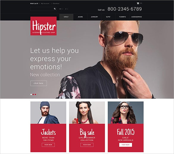 street fashion html5 template