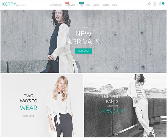 responsive apparel fashion html5 theme