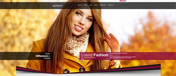 premium fashion html5 theme