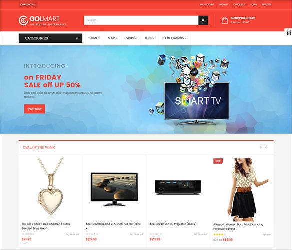 multi purpose fashion html5 theme
