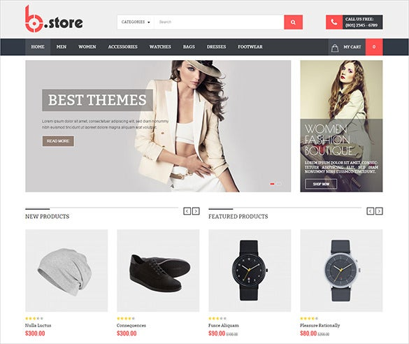 slendid fashion html5 theme
