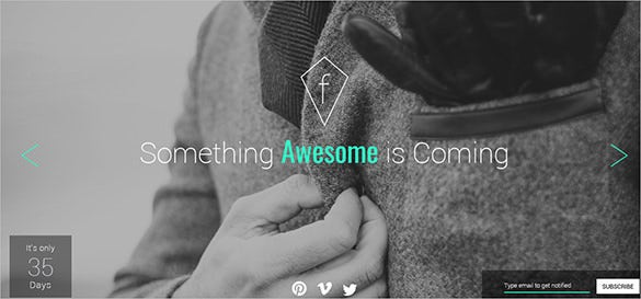 awesome fashion html5 theme