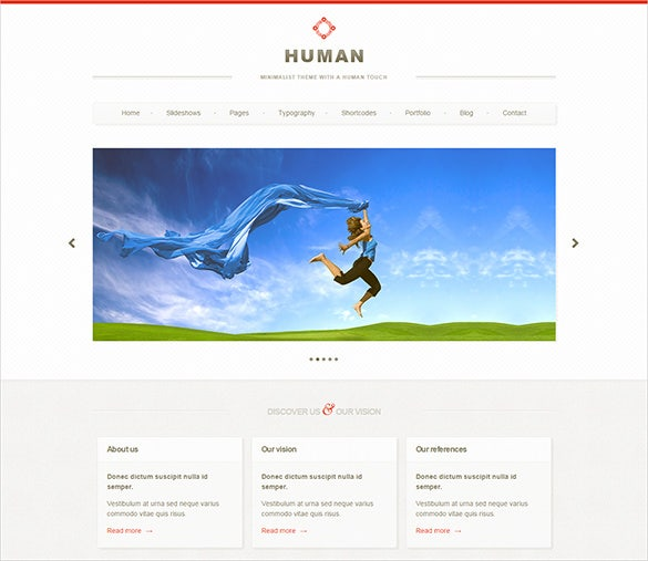 perfect fashion design html5 theme