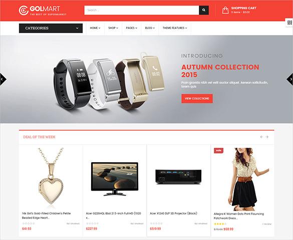 responsive fashion store bootstrap theme