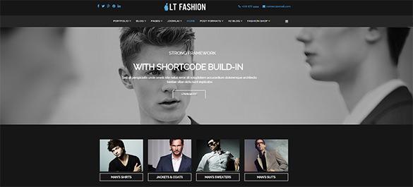 responsive fashion joomla bootstrap theme