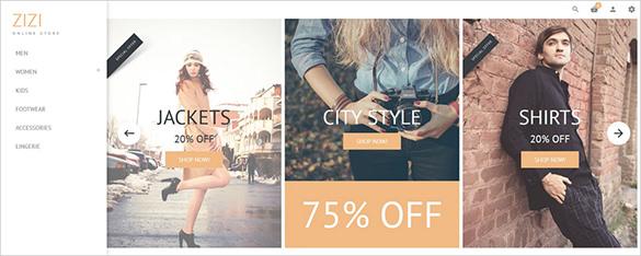 online fashion php theme