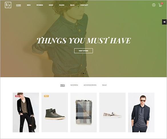 pretty fashion php template