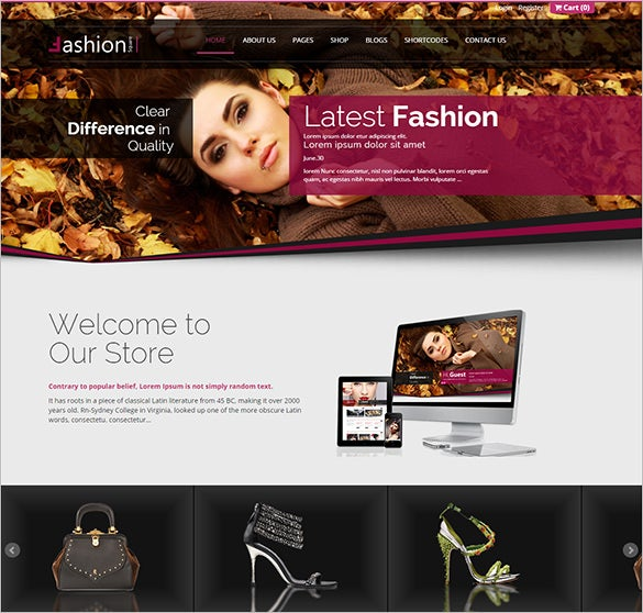 splendid fashion php theme