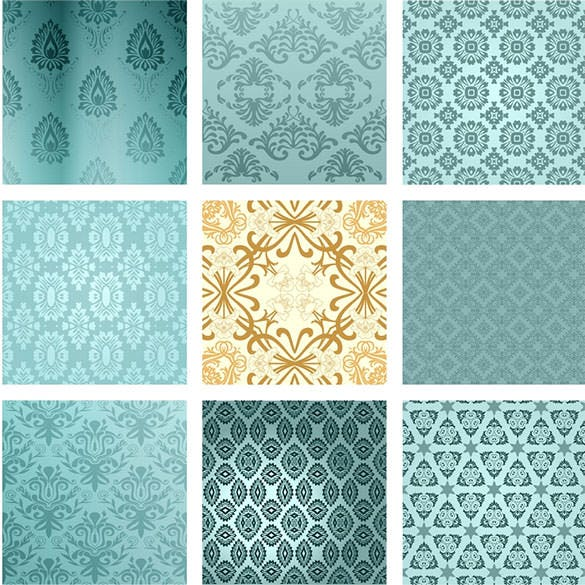 download retro background set eps format