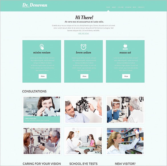 amazing doctor responsive wordpress theme