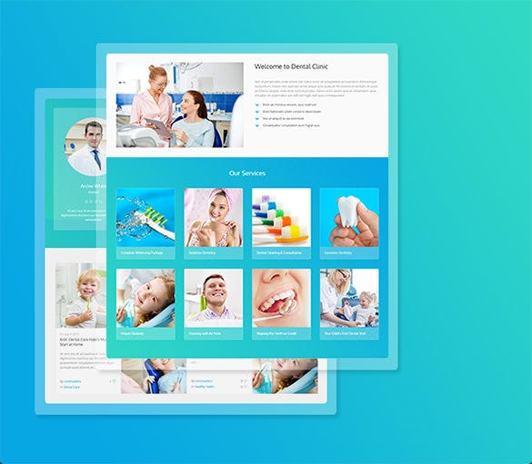 awesome wordpress theme for dental clinic