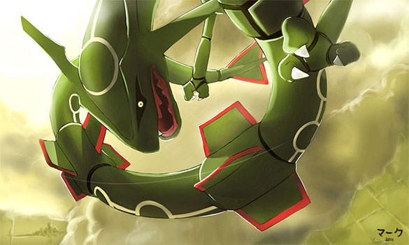 pokemon rayquaza background download