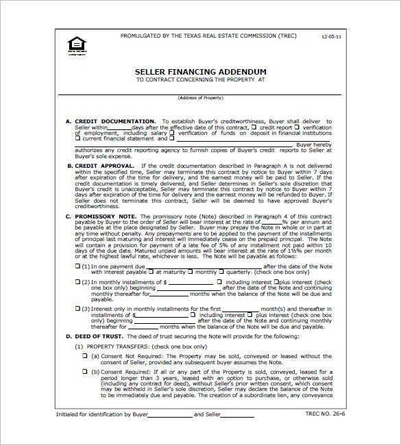 Texas Real Estate Promissory Note Form  Form Promissory Note