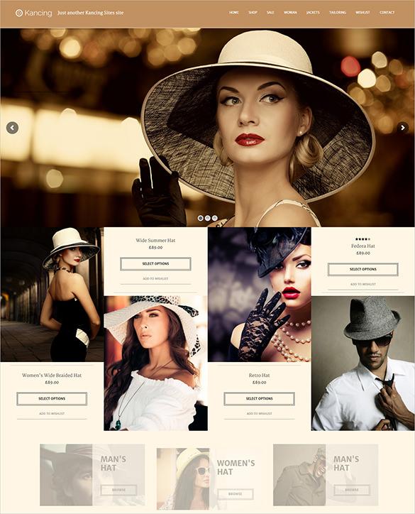 premium fashion wordpress website theme