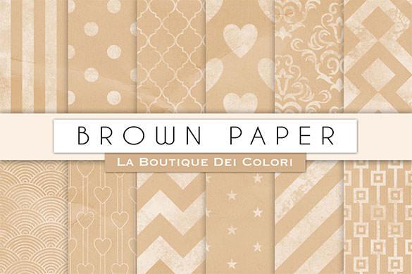 12 brown chalk paper background download