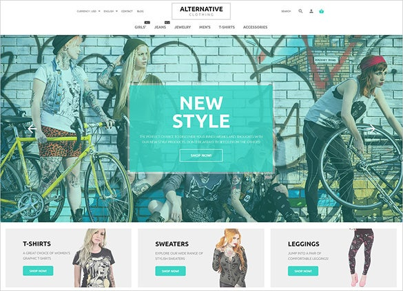 street style fashion prestashop theme