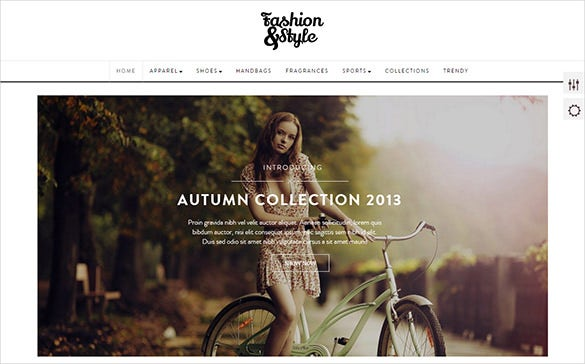 fashion style prestashop theme