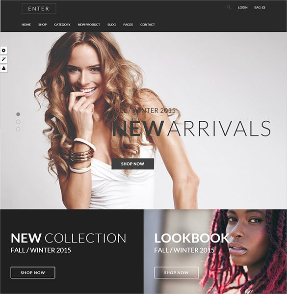 responsive fashion prestashop template