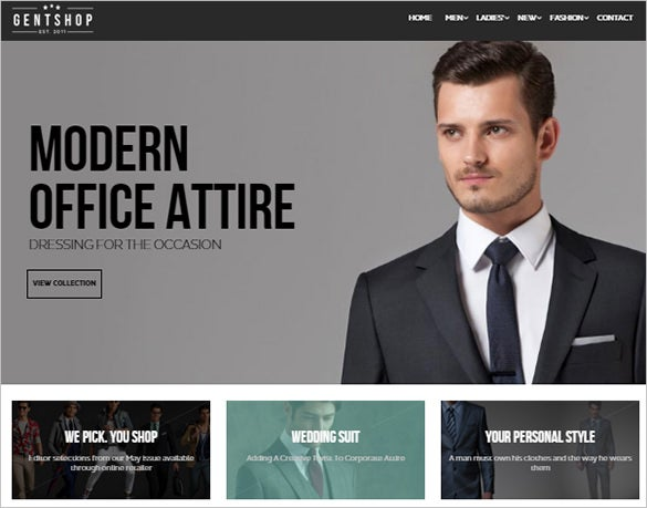 modern fashion prestashop theme
