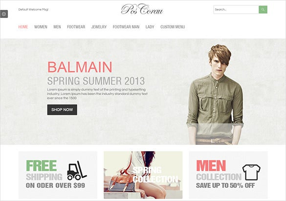 excellent fashion prestashop theme