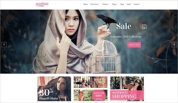 fashion shop prestashop template