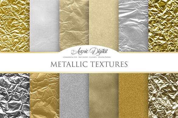 12 metallic background textures download