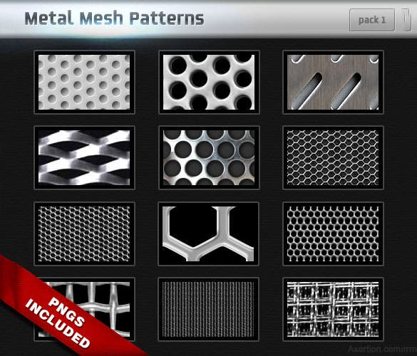 14 metal mesh pattern background free download