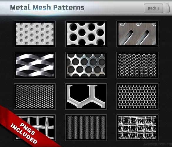 14 metal mesh pattern background free download