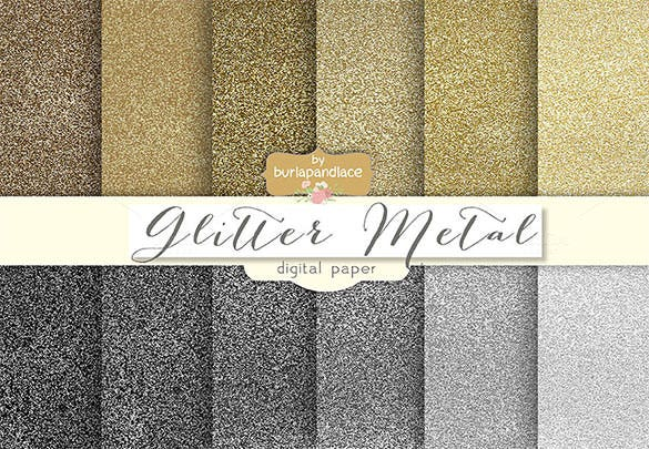 glitter mettalic pattern premium download