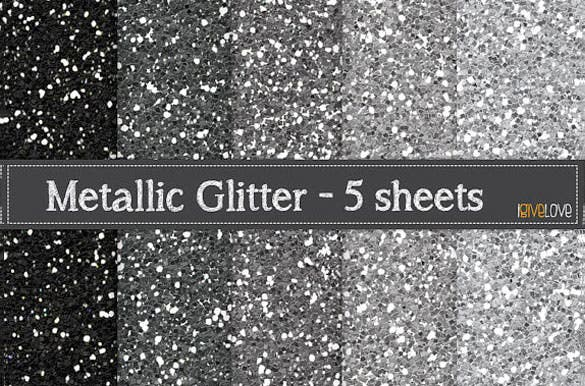 5 unique metallic glitter paper background download