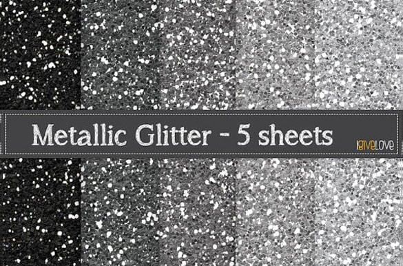 5 unique metallic glitter paper background download