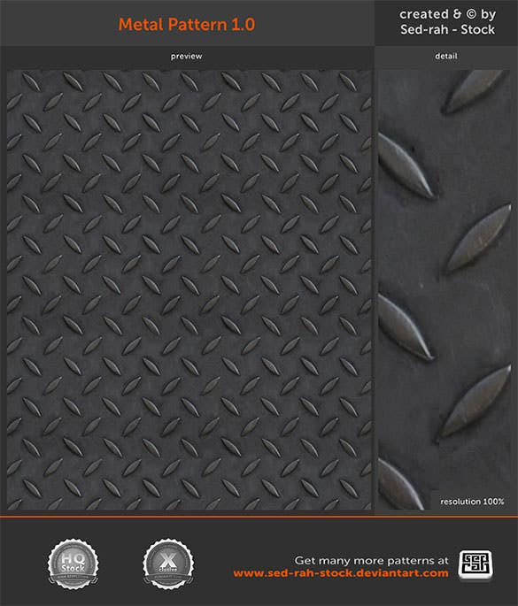 free download metal pattern background