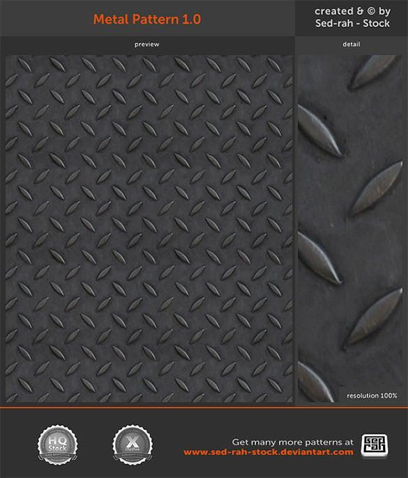 free download metal pattern background
