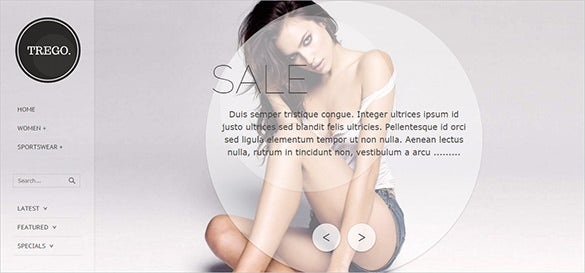 simple fashion zencart template