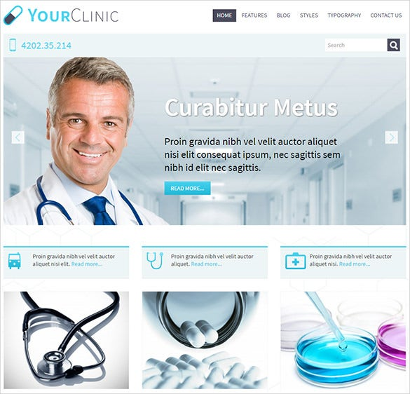 simple doctor psd theme