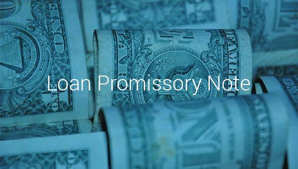 loan promissory note