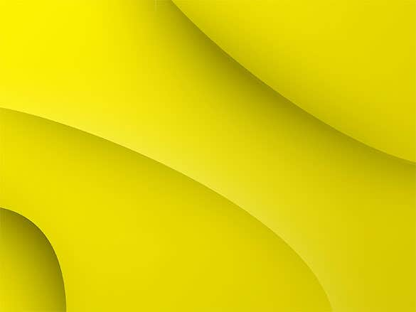 The Background Wallpaper Yellow Download Uses Shadow Effects And Creates A Marvelous Plain With Brilliant Curves