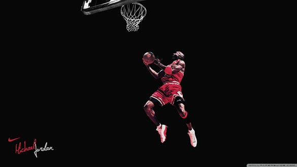 free download michael jordan clean basketball wallpaper