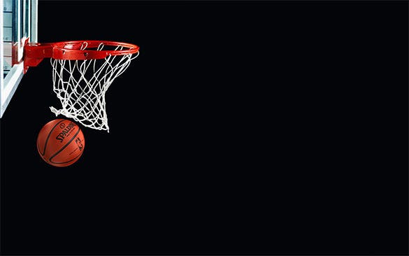 falling basketball hd background desktop download