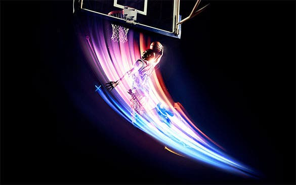 basketball powerfull hd background download