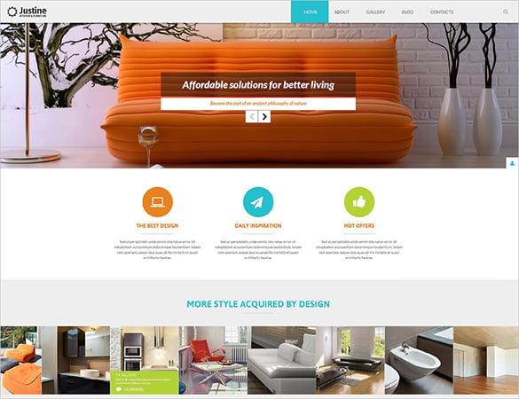 interior business joomla template