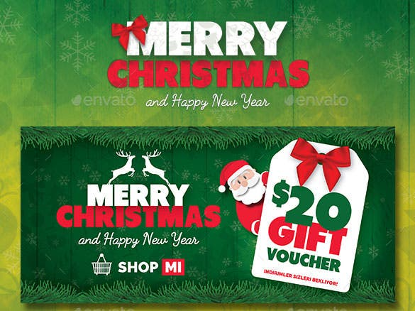 christmas gift card template psd design - Free Photo Christmas Card Templates