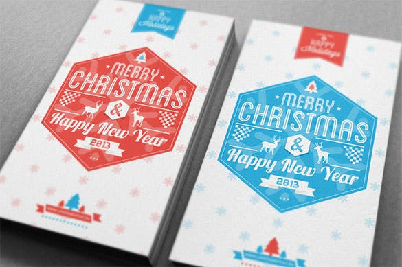 good christmas card ai format download