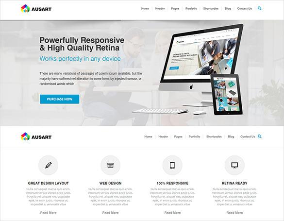 business multi purpose joomla template