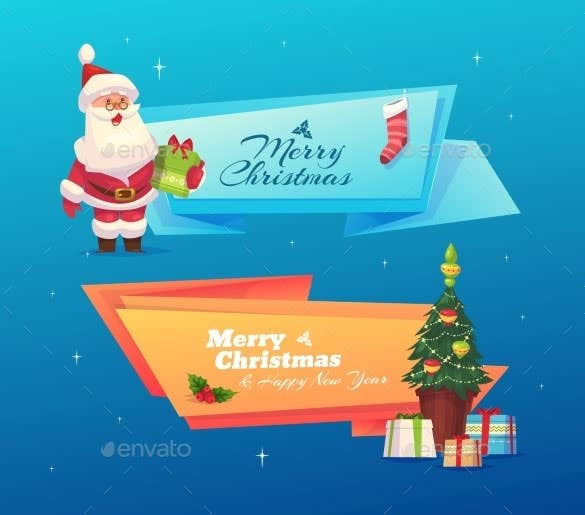 download funny christmas card vector eps format