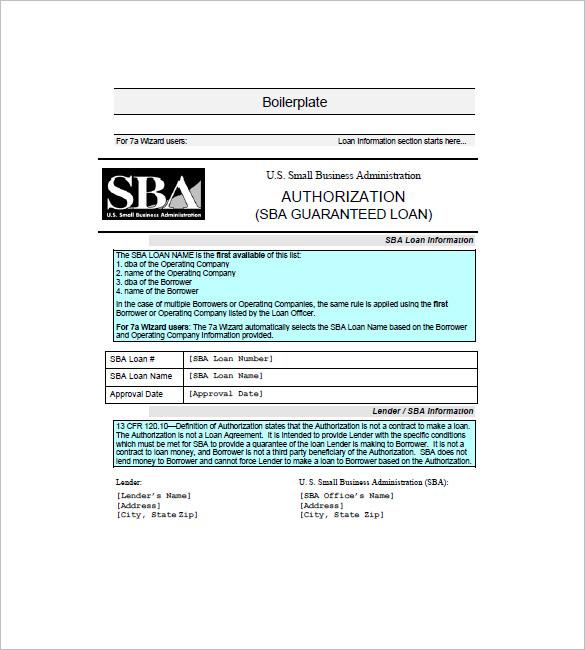 boilerplate promissory note