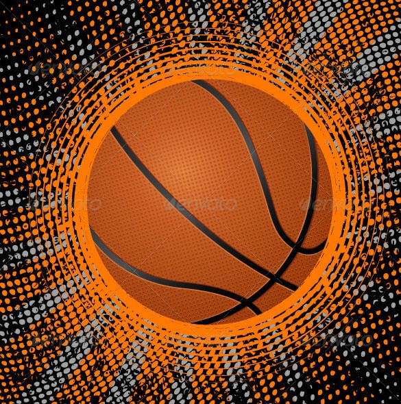abstract basketball background download vector eps
