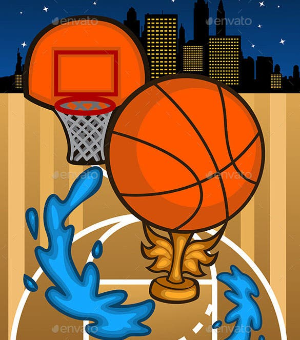 basketball background template vector eps format